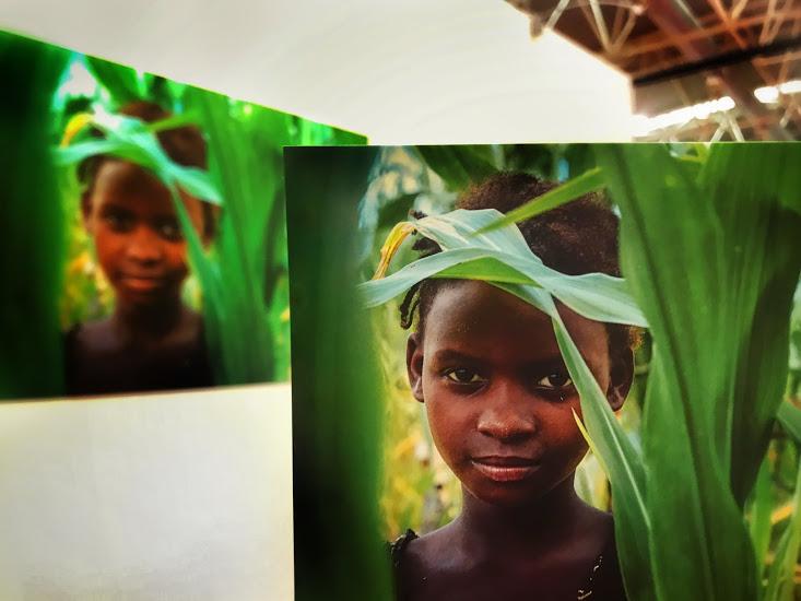 iccole contadine di Nhamatanda - Ho incontrato questa bambina nei campi di grano di Nhamatanda. Ci siamo scambiate qualche parola in portoghese e un sorriso. Ho incontrato molte contadine come lei, giovani donne con foglie di grano tra i capelli, che aiutano le proprie famiglie.