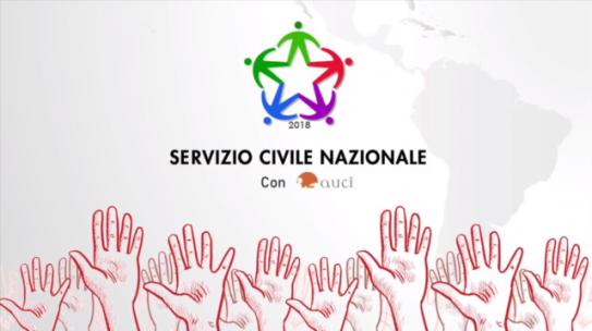 Servizio Civile 2018 – Video con i volontari di AUCI